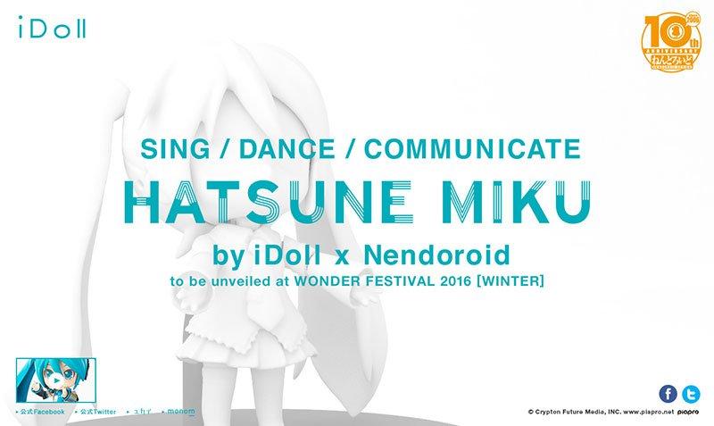 Hatsune Miku by iDoll x Nendoroid