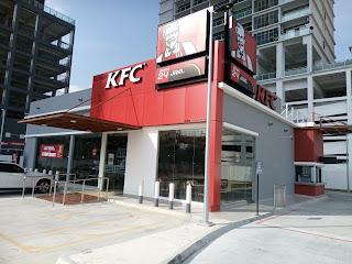 The new 24 hour drive thru KFC @ Shell, Austin Perdana