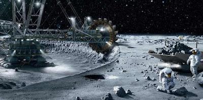 uzayda ham madde arayışı, sömürgeleşme