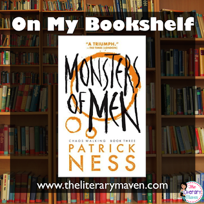 In Monsters of Men, the final book in the Chaos Walking series by Patrick Ness the conflict between the men of Prentisstown and The Answer persists, but now they have a common enemy, the Spackle, and possibly a common ally, the settlers. Todd and Violet rise to new levels of leadership and must make tough choices about who to trust. Read on for more of my review and ideas for classroom application.