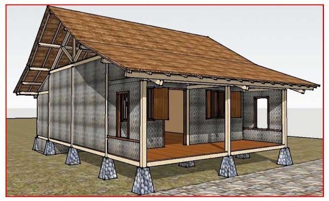 Gambar Struktur-Rumah-Adat-Banten
