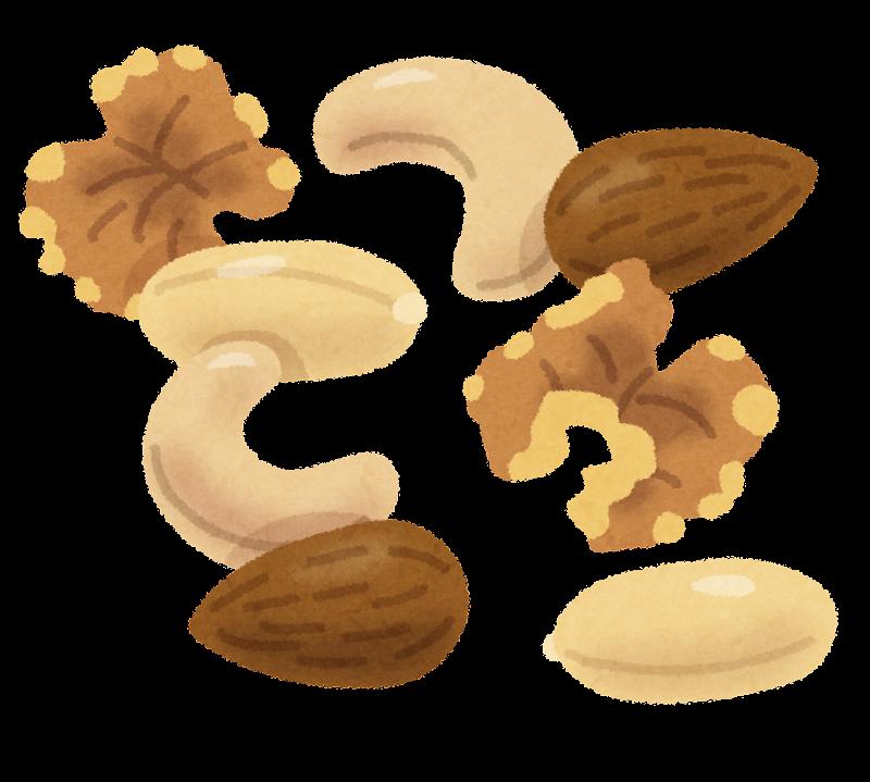 「ナッツ類 イラスト ヨガ」の画像検索結果
