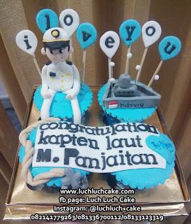 Cupcake Tema TNI Angkatan Laut