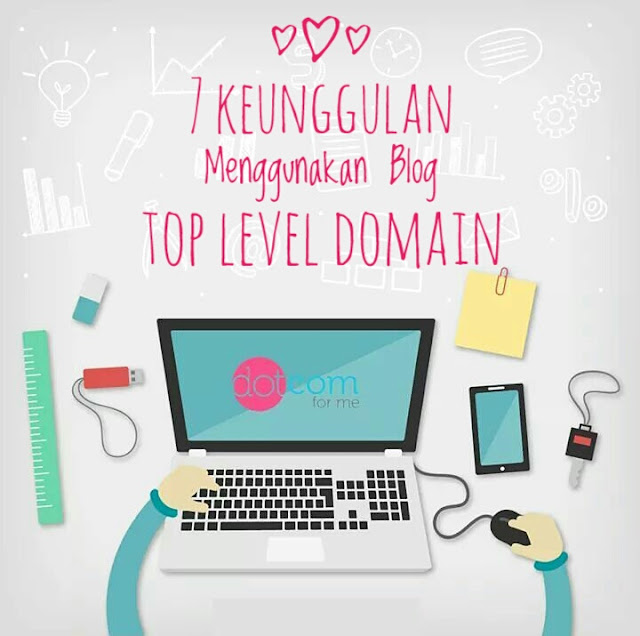 Keunggulan Menggunakan Top Level Domain .Net/ .Com