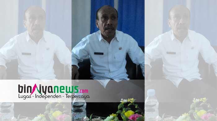 Plt Kadis Perhubungan Kabupaten Seram Bagian Timur (SBT) Ramly Kilwarany