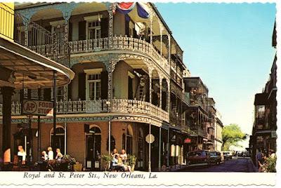 Αξιοθέατο σε δρόμο της Νέας Ορλεάνης / New Orleans' street