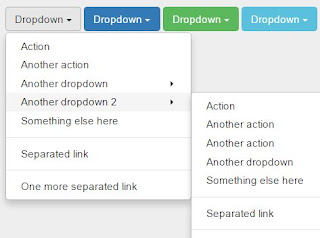 menu dropdown bootstrap tidak berfungsi