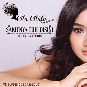 Chord Gitar & Lirik Dangdut @ Lagu Cita Citata - Sakitnya Tuh Disini.