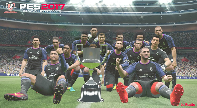 PES 2017 Copa del Rey Trophy by Ronito