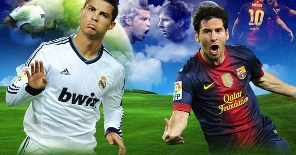 Cristiano Ronaldo (Portugal) e Lionel Messi (Argentina)