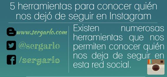 Instagram, Redes Sociales, Unfollow, Social Media, Herramientas, Infografía, Infographic,
