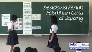 Beasiswa Penuh Pelatihan Guru di Jepang