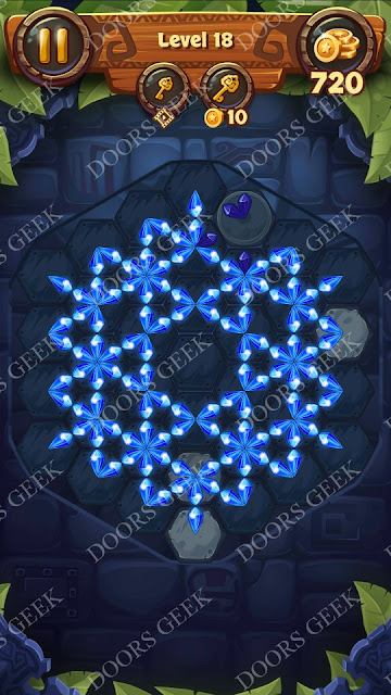 Gems & Magic [Tourmaline] Level 18 Solution, Walkthrough, Cheats