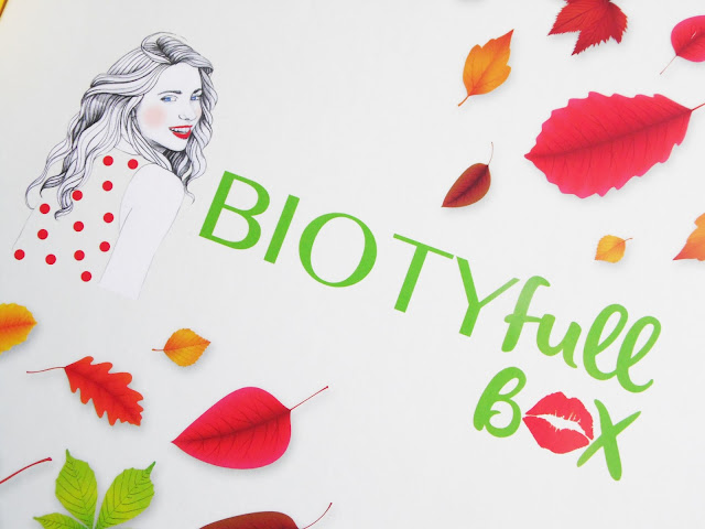 biotyfull box de septembre 2016