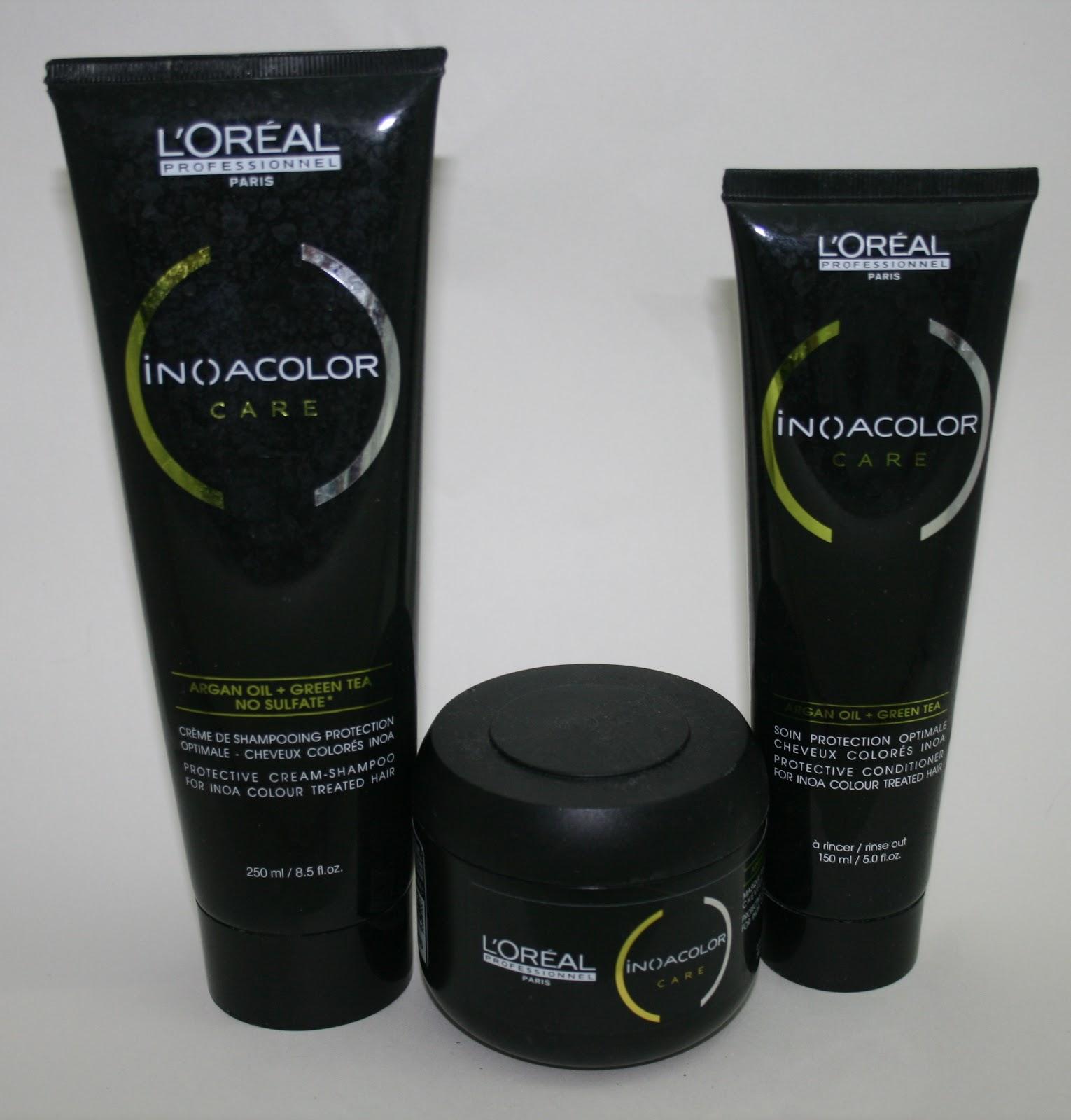 L Oreal Inoa Colour Care Shampoo Conditioner And Masque
