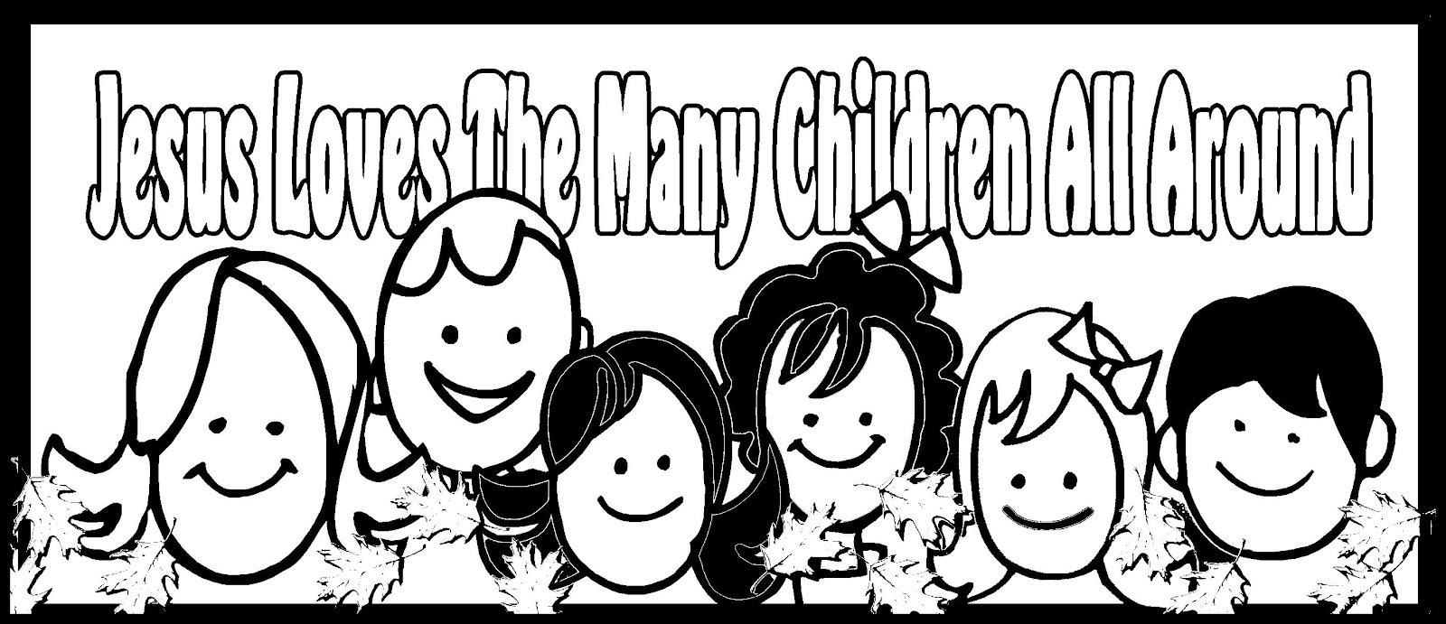 Childrens Gems In My Treasure Box Jesus Loves The Many