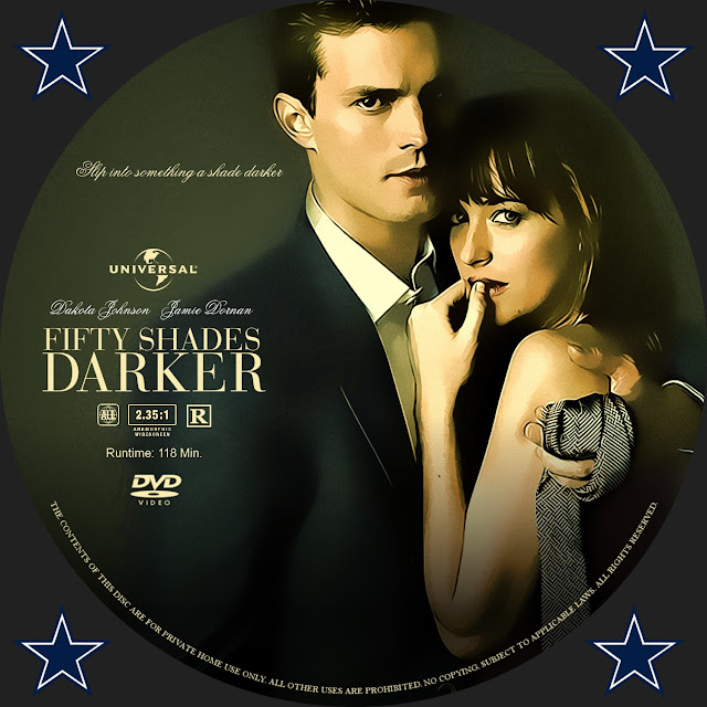 Fifty Shades Darker DVD Label