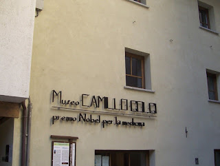 The Golgi museum in Via Brescia, Corteno Golgi