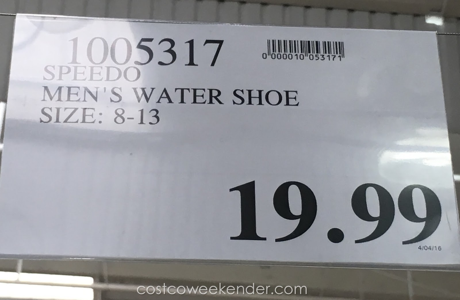 88017b27a525 Deal for the Speedo Men s Hydro Comfort 4.0 Water Shoe at Costco