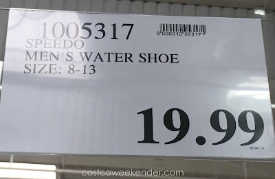 Deal for the Speedo Men's Hydro Comfort 4.0 Water Shoe at Costco