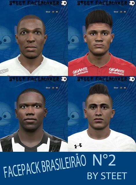 PES 2016 Brasileirao Facepack 2016