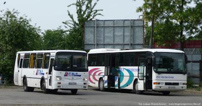 Autosan A0909L z PKS Wałcz i MAN ÜL313 z PKS Szczecinek