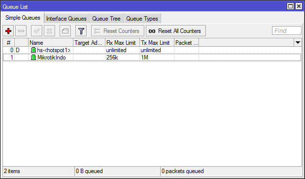 Cara Mudah Membatasi Bandwidth (Limit) dengan Simple Queue  MikroTik