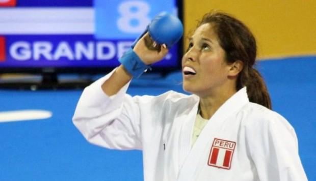 Alexandra Grande dio a Perú la primera medalla de su historia en los Juegos Mundiales en el karate de Breslavia 2017