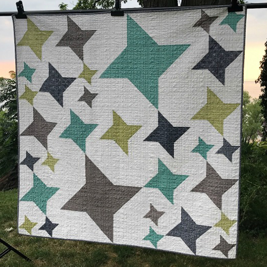 In Good Company Quilt Free Tutorial designed by Sarah Elliott of QuiltModerne