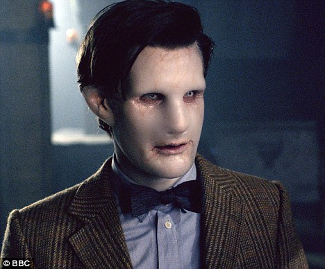 Doctor Who looks like he's suffering from a case of Voldemort-itis as the time lord is 'cloned'