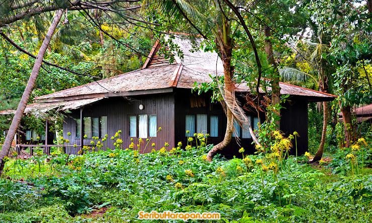 salah satu cottage di pulau bira besar