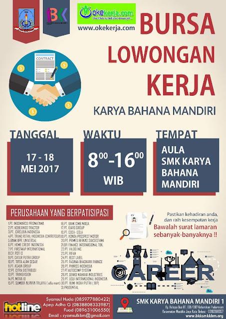 Job Fair SMK Karya Bahana Mandiri