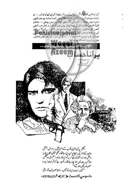 Purana hisab novel by Tanveer Riaz