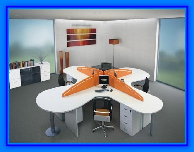 Muebles de oficina con tablero melamina web del for Bases para muebles de oficina