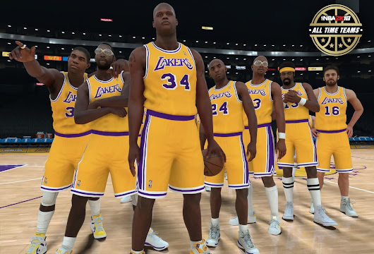 NBA 2K18 First Look at Lakers All-Time Team!