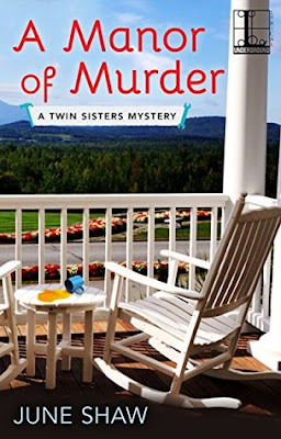 A Manor of Murder book cover