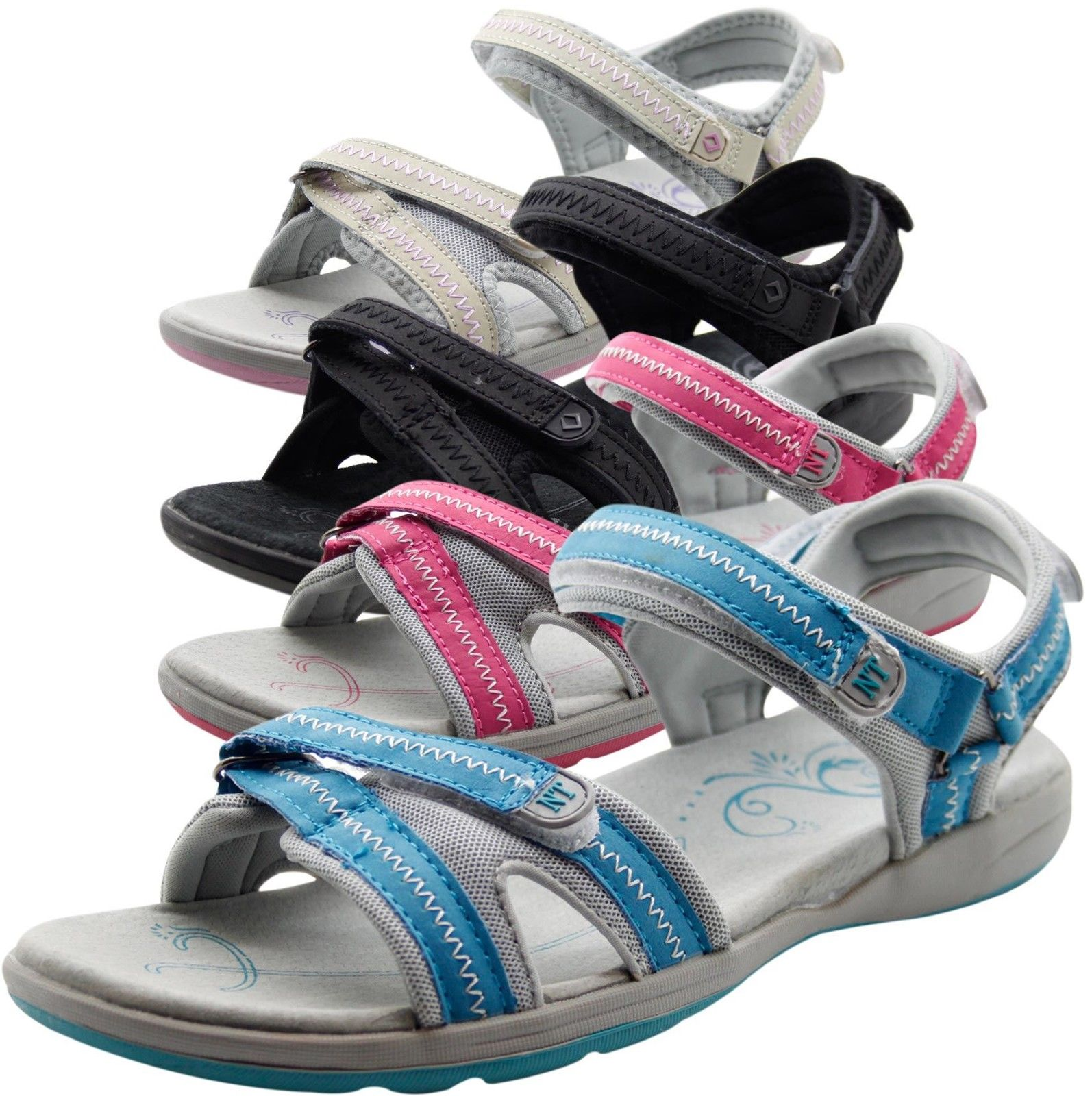 b3a57f081b13 New Ladies Northwest Territory Sports Shoes Women Outdoor Mules Summer  Sandals