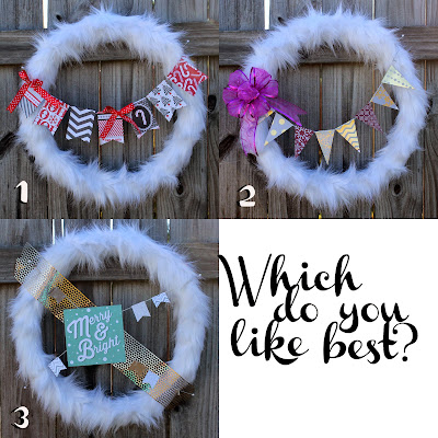 http://www.doodlecraftblog.com/2014/11/fur-wreath-decorated-with-dcwv-paper.html