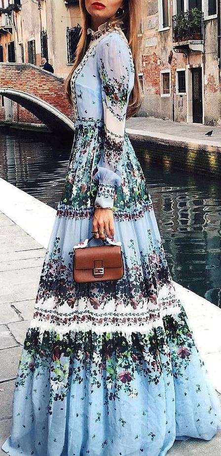 gypsy style addict: amazing maxi dress + bag