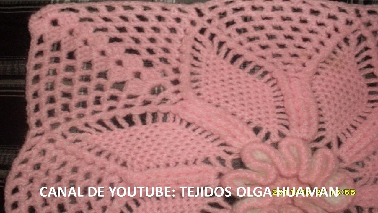 Cuadros A Crochet Crochet De Cuadros De Flores