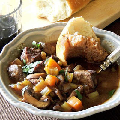 Slow Cooker Beef Stew from www.bobbiskozykitchen.com