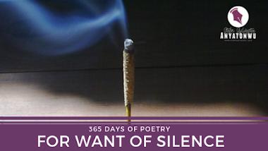 For Want Of Silence | Stefn Sylvester Anyatonwu