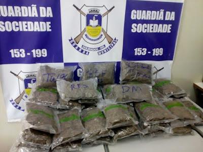 Guarda Municipal de Dourados (MS) apreende 'super maconha skank'