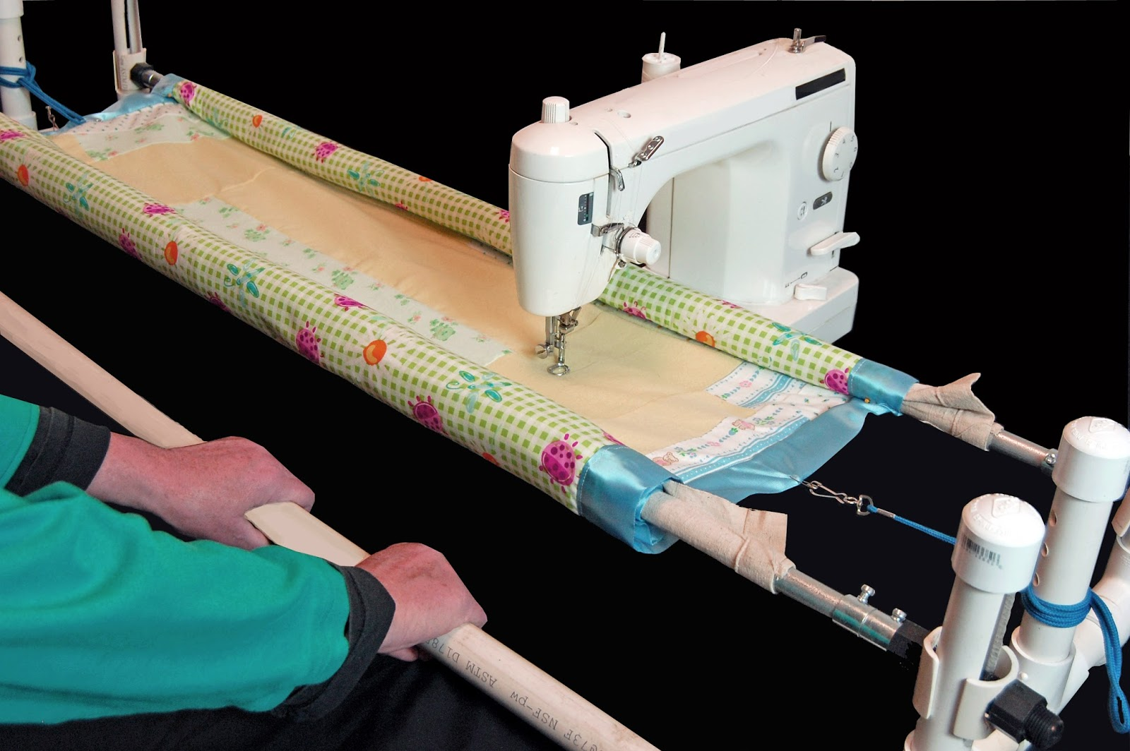 diy quilting frame for sewing machine