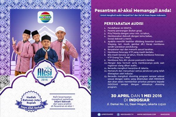 Audisi Aksi Indosiar 2016