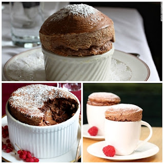Recipes to Make Chocolate Souffle Cake - Healthy T1ps