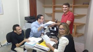 Chapa Olivânio e Lucas Marques é registrada junto ao TRE/PB