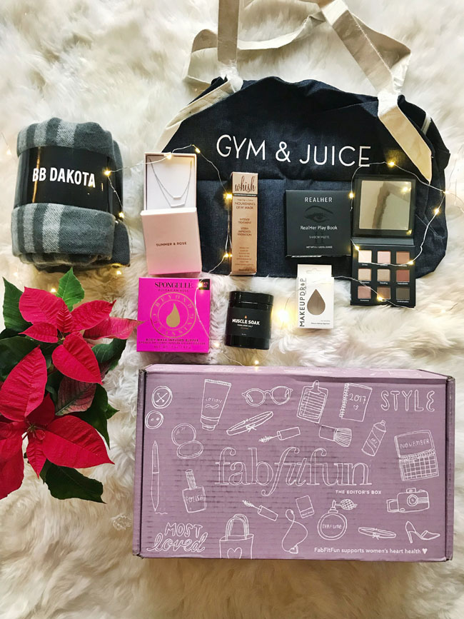 Fab Fit Fun Editor's Box Review, Chicago Style Blogger, Jennifer Worman, Subscription Box Review, Fab Fit Fun Box Review