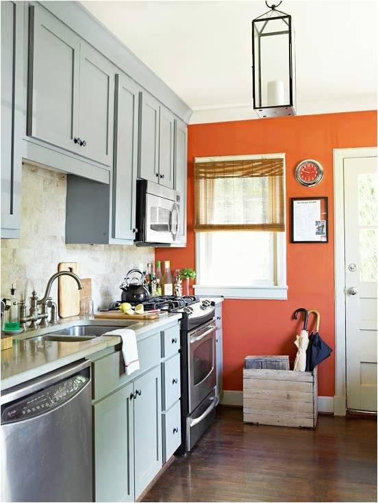 Orange Kitchen Ideas   Room Design Inspirations