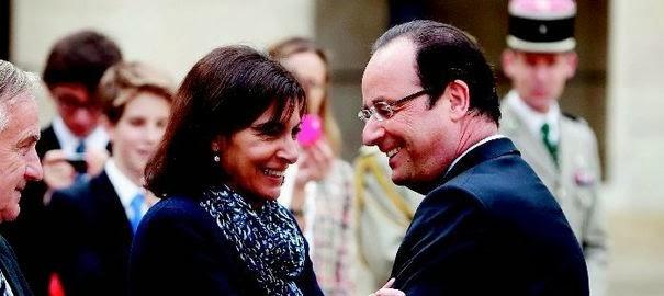 Anne Hidalgo François Hollande est il le père de son filsElle